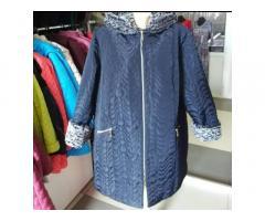 Куртка зимняя большого размера 66-68