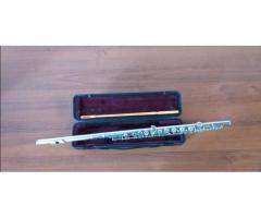 Японская флейта ручной сборки чистое серебро 999 8 серия